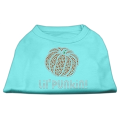 Mirage Pet Products Lil' Punkin' Rhinestone Shirts Aqua L (14)