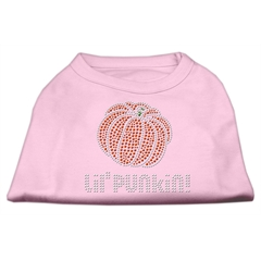 Mirage Pet Products Lil' Punkin' Rhinestone Shirts Light Pink S (10)