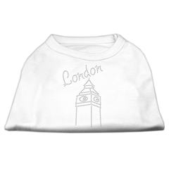 Mirage Pet Products London Rhinestone Shirts White M (12)