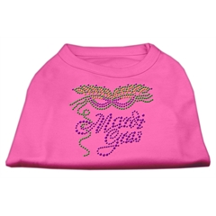 Mirage Pet Products Mardi Gras Rhinestud Shirt Bright Pink S (10)