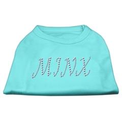 Mirage Pet Products Minx Rhinestone Shirts Aqua XXL (18)