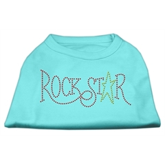 Mirage Pet Products RockStar Rhinestone Shirts Aqua L (14)