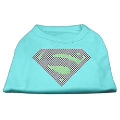 Mirage Pet Products Super! Rhinestone Shirts Aqua XS (8)