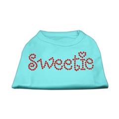 Mirage Pet Products Sweetie Rhinestone Shirts Aqua S (10)