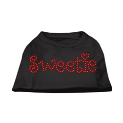 Mirage Pet Products Sweetie Rhinestone Shirts Black XXL (18)