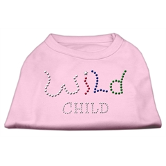 Mirage Pet Products Wild Child Rhinestone Shirts Light Pink M (12)