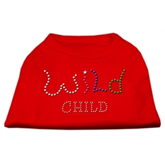 Mirage Pet Products Wild Child Rhinestone Shirts Red S (10)