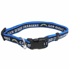 Mirage Pet Products San Diego Chargers Collar Small