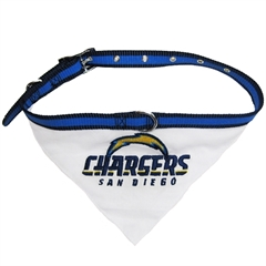 Mirage Pet Products San Diego Chargers Bandana Medium