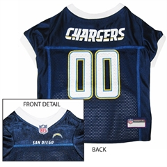 Mirage Pet Products San Diego Chargers Jersey XS