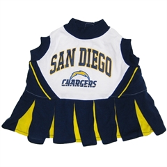 Mirage Pet Products San Diego Chargers Cheer Leading SM