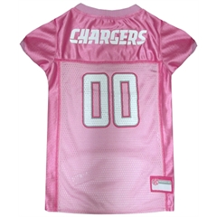 Mirage Pet Products San Diego Chargers Pink Jersey LG