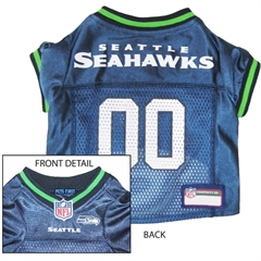 Mirage Pet Products Seattle Seahawks Jersey Small