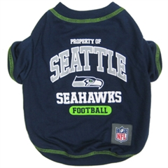 Mirage Pet Products Seattle Seahawks Shirt SM