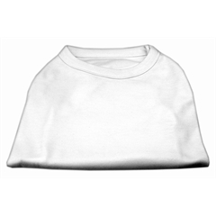 Mirage Pet Products Plain Shirts White  Med (12)