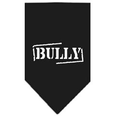 Mirage Pet Products Bully Screen Print Bandana Black Small