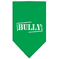 Mirage Pet Products Bully Screen Print Bandana Emerald Green Large