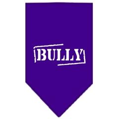 Mirage Pet Products Bully Screen Print Bandana Purple Small