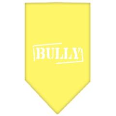 Mirage Pet Products Bully Screen Print Bandana Yellow Large