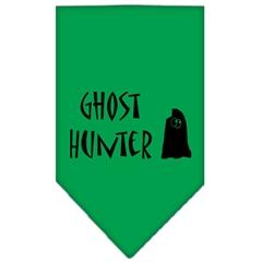 Mirage Pet Products Ghost Hunter Screen Print Bandana Emerald Green Large