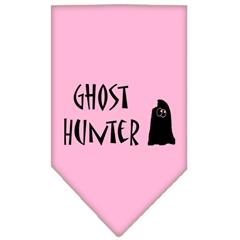 Mirage Pet Products Ghost Hunter Screen Print Bandana Light Pink Small