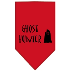 Mirage Pet Products Ghost Hunter Screen Print Bandana Red Small