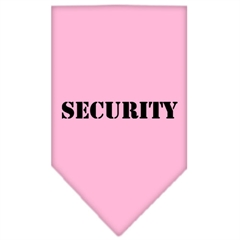 Mirage Pet Products Security  Screen Print Bandana Light Pink Small
