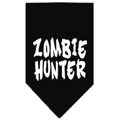 Mirage Pet Products Zombie Hunter Screen Print Bandana Black Large
