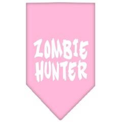 Mirage Pet Products Zombie Hunter Screen Print Bandana Light Pink Small