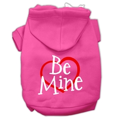 Mirage Pet Products Be Mine Screen Print Pet Hoodies Bright Pink Size XXXL (20)