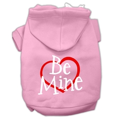 Mirage Pet Products Be Mine Screen Print Pet Hoodies Light Pink Size Med (12)