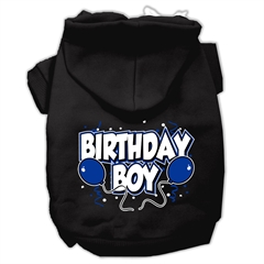 Mirage Pet Products Birthday Boy Screen Print Pet Hoodies Black Size XXL (18)
