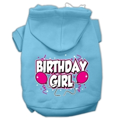 Mirage Pet Products Birthday Girl Screen Print Pet Hoodies Baby Blue Size XL (16)