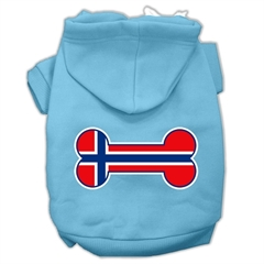 Mirage Pet Products Bone Shaped Norway Flag Screen Print Pet Hoodies Baby Blue L (14)