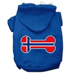 Mirage Pet Products Bone Shaped Norway Flag Screen Print Pet Hoodies Blue XL (16)
