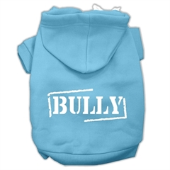 Mirage Pet Products Bully Screen Printed Pet Hoodies Baby Blue Size XXXL (20)