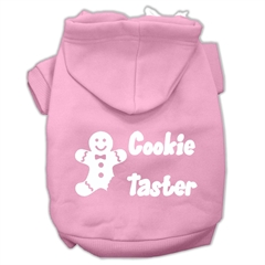 Mirage Pet Products Cookie Taster Screen Print Pet Hoodies Light Pink Size XXXL (20)