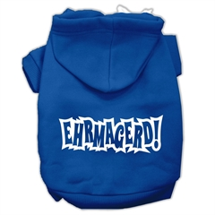 Mirage Pet Products Ehrmagerd Screen Print Pet Hoodies Blue Size XS (8)