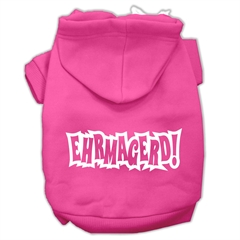 Mirage Pet Products Ehrmagerd Screen Print Pet Hoodies Bright Pink Size XXXL (20)