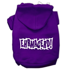 Mirage Pet Products Ehrmagerd Screen Print Pet Hoodies Purple Size XS (8)