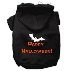 Mirage Pet Products Happy Halloween Screen Print Pet Hoodies Black XXL (18)