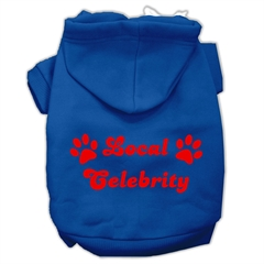 Mirage Pet Products Local Celebrity Screen Print Pet Hoodies Blue Size XXL (18)