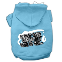 Mirage Pet Products My Kind of Gas Screen Print Pet Hoodies Baby Blue XL (16)