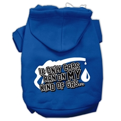 Mirage Pet Products My Kind of Gas Screen Print Pet Hoodies Blue L (14)