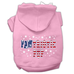 Mirage Pet Products Pawtriotic Pup Screen Print Pet Hoodies Light Pink M (12)