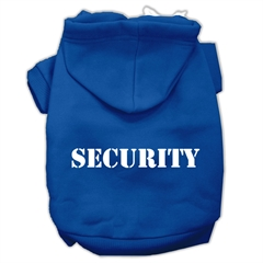 Mirage Pet Products Security Screen Print Pet Hoodies Blue Size Med (12)