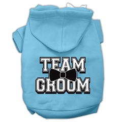 Mirage Pet Products Team Groom Screen Print Pet Hoodies Baby Blue Size XL (16)