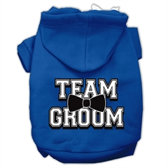 Mirage Pet Products Team Groom Screen Print Pet Hoodies Blue Size XXL (18)