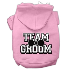 Mirage Pet Products Team Groom Screen Print Pet Hoodies Light Pink Size XXXL (20)