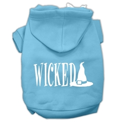 Mirage Pet Products Wicked Screen Print Pet Hoodies Baby Blue Size XXL (18)